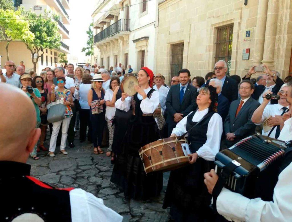 Foto de archivo de la VIII Xuntanza de Centros Gallegos en Andalucía, Ceuta y Extremadura, celebrada en El Puerto de Santa María.