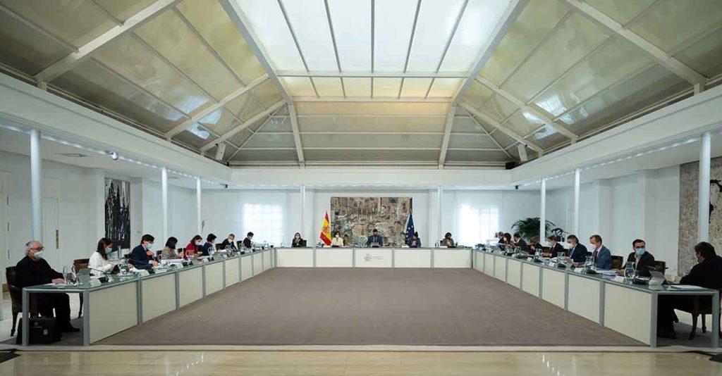 Reunión del Consejo de Ministros del pasado 24 de noviembre.