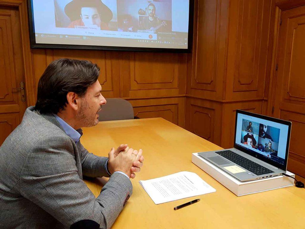 Rodríguez Miranda presentará el cómic sobre Carvalho Calero por videoconferencia.