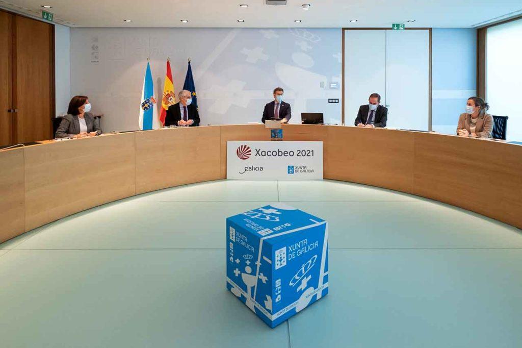 Imagen del Consello de la Xunta de Galicia del pasado 12 de noviembre.