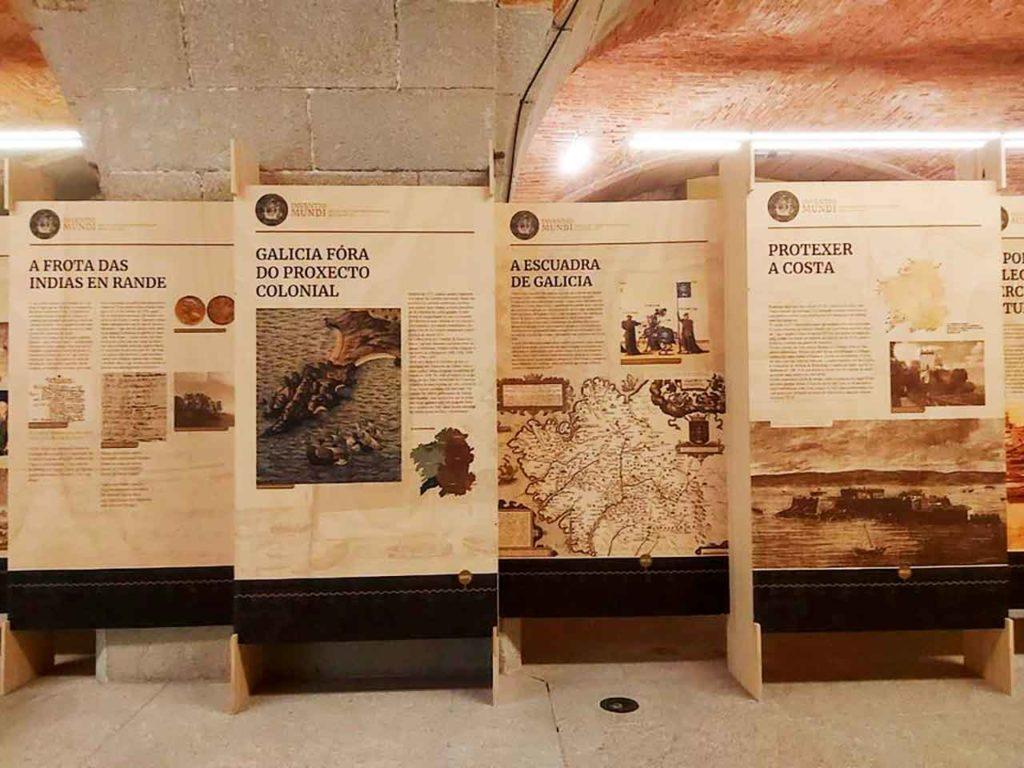 La muestra en el Museo de la Construcción Naval-Exponav Ferrol.