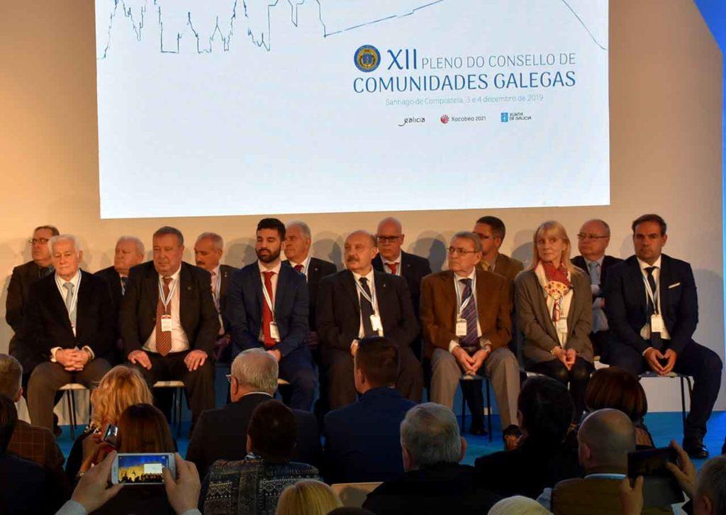 Miembros de la Comisión Delegada elegidos en el XII Pleno del Consello de Comunidades Galegas.