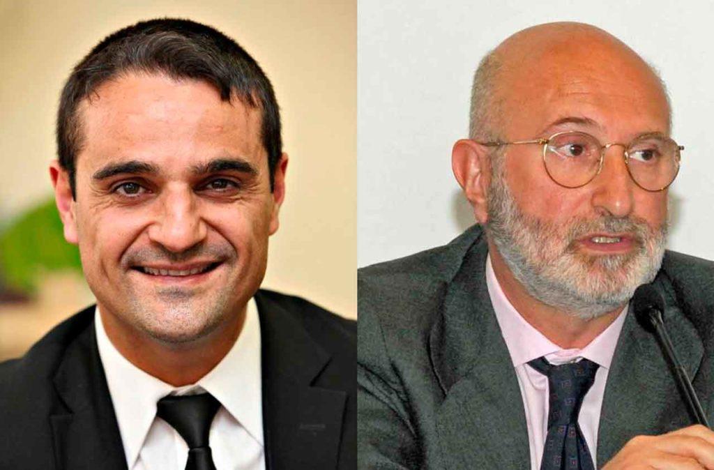 Ángel Martín Peccis y Juan Fernández Trigo.