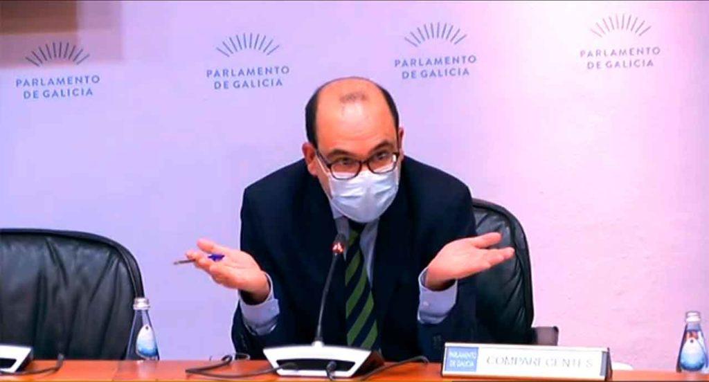 Intervención del secretario xeral da Presidencia, Álvaro Pérez López.