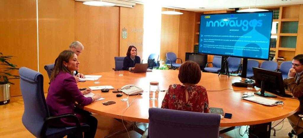 Presentación del proyecto 'Innovaugas 4.0' a más de 370 profesionales de la tecnología y de la investigación a través de videoconferencia.