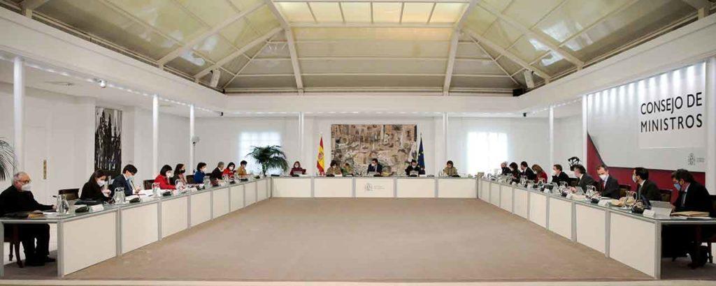 Reunión del Consejo de Ministros del pasado 29 de diciembre.