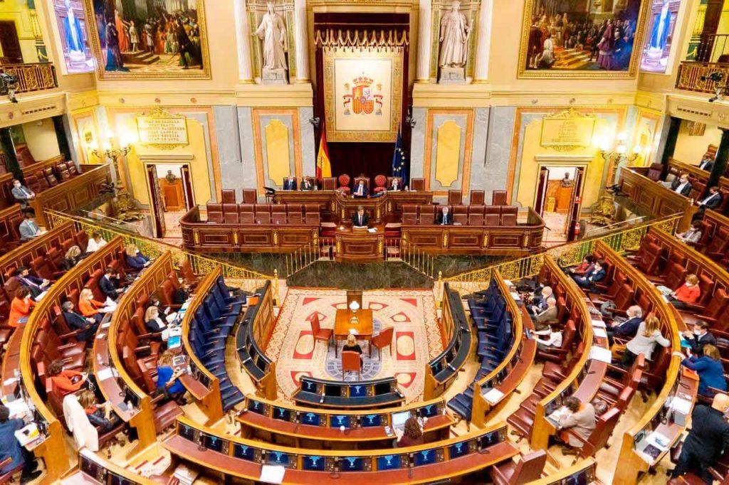 Pleno del Congreso durante la intervención el pasado 2 de diciembre del ministro de Inclusión, Seguridad Social y Migraciones.