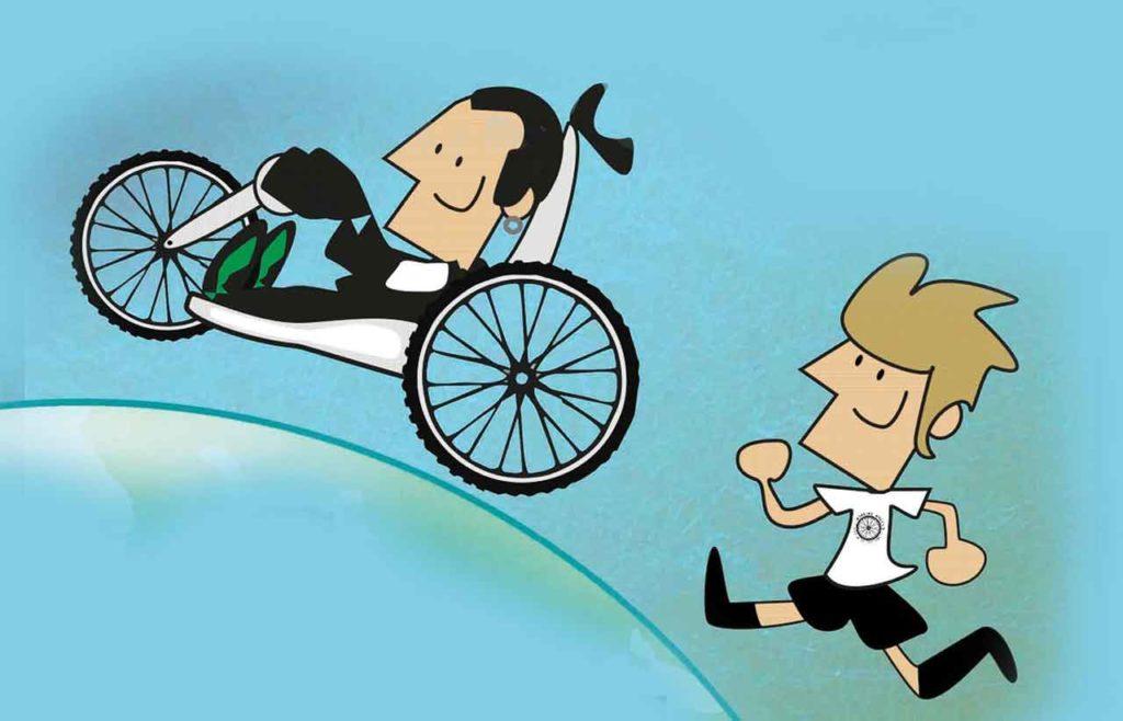 """Ilustración de """"A volta ao mundo con Working Wheels""""."""