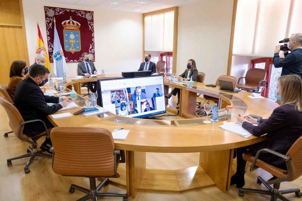 Reunión del Consello de la Xunta del pasado 23 de diciembre.