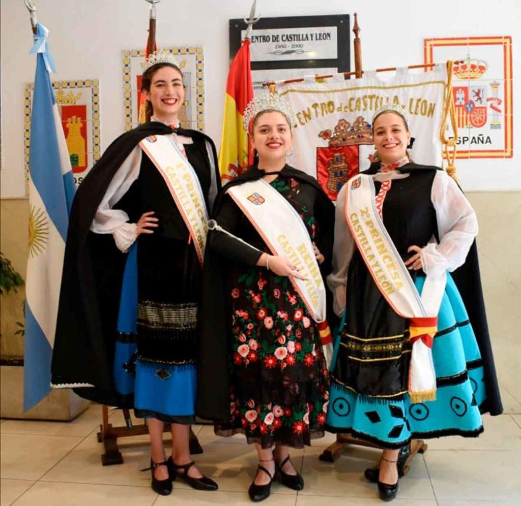 Micaela Mazzsa, Melisa Rocío Bona y Florencia Grieco.