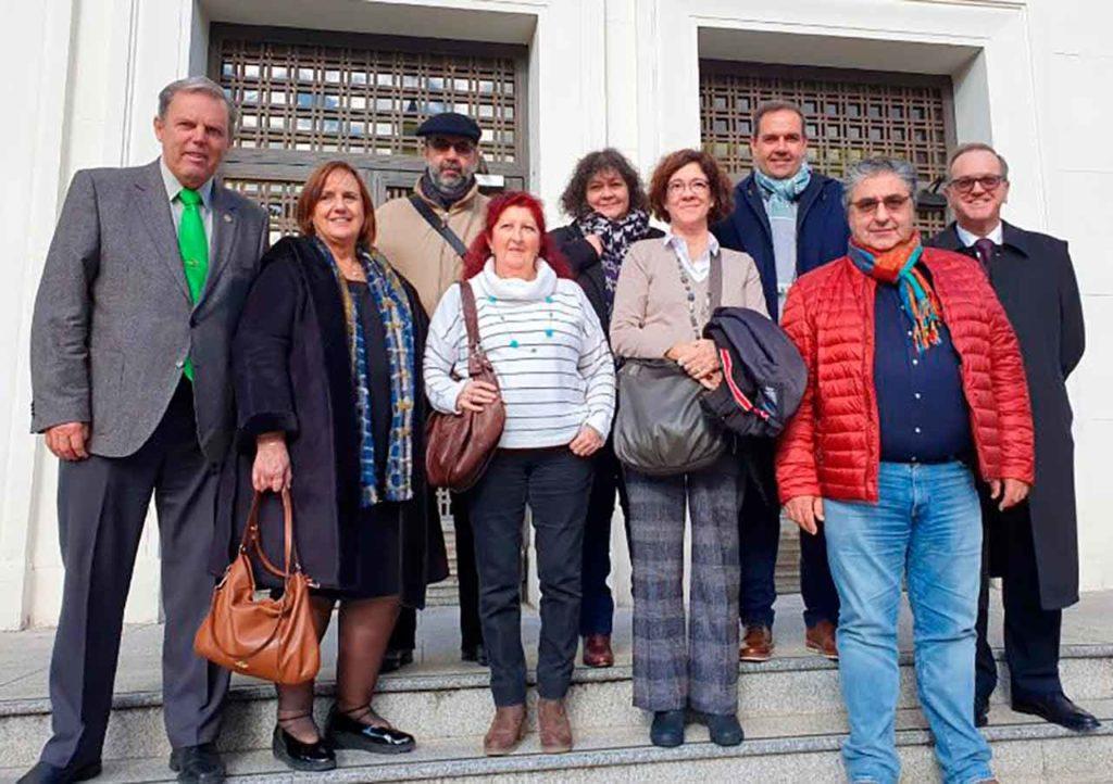 Imagen de archivo de los miembros de la Comisión Permanente del CGCEE.