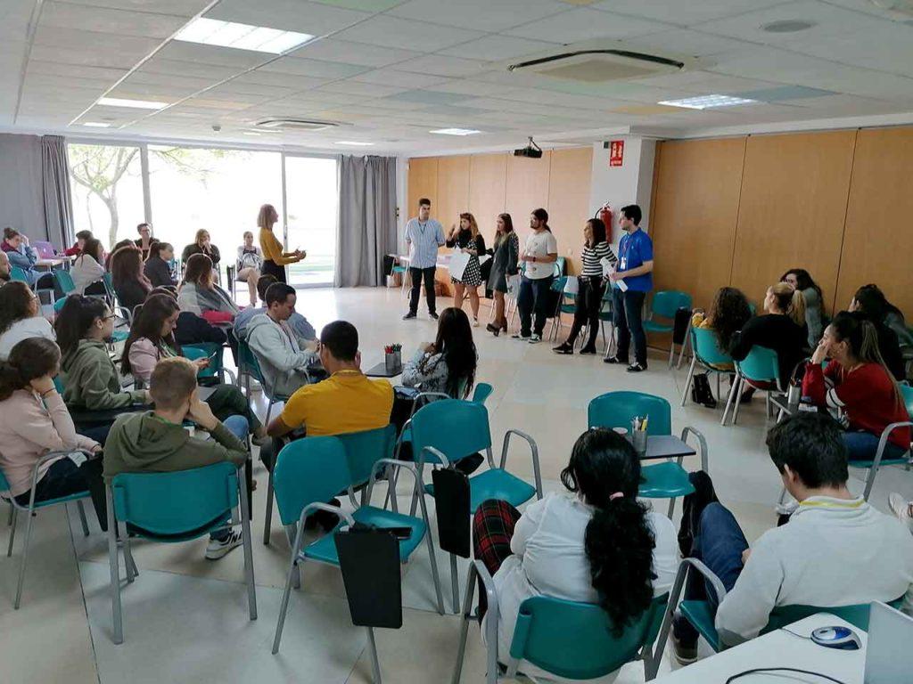 Imagen de archivo del encuentro de jóvenes andaluces celebrado en la Comunidad Valenciana en 2019.