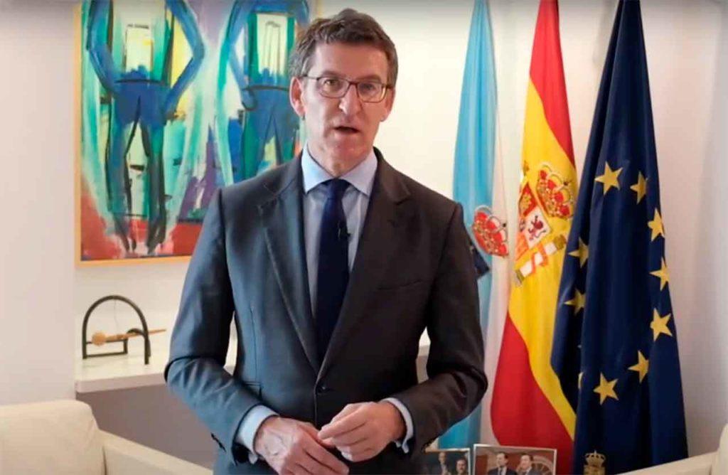 Mensaje de Navidad del presidente de la Xunta de Galicia, Alberto Núñez Feijóo.