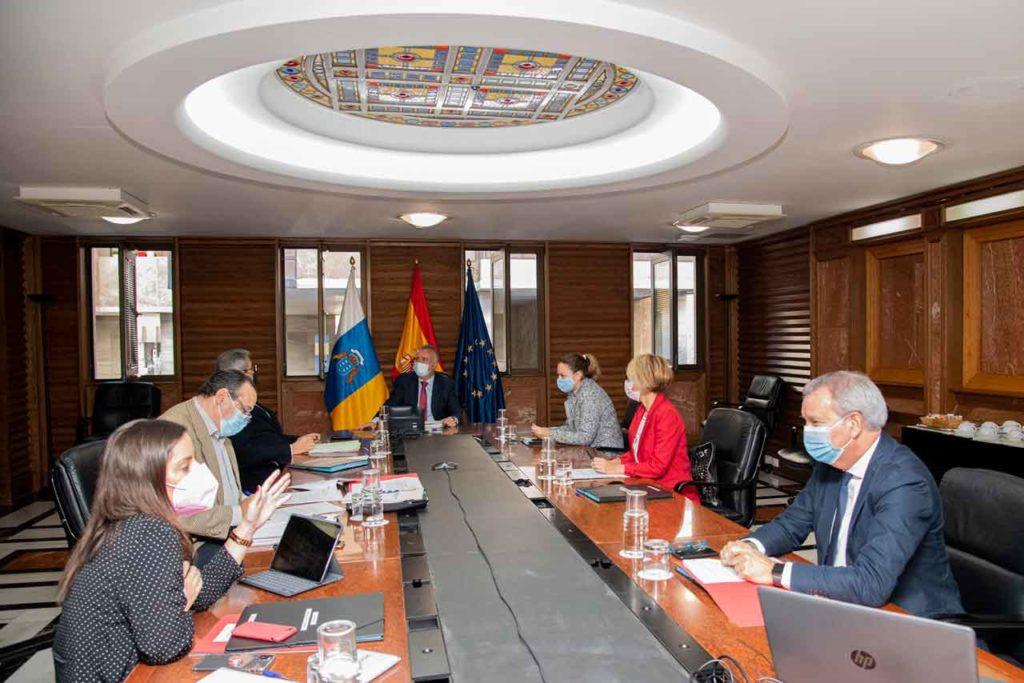 Imagen del Consejo de Gobierno del Ejecutivo autonómico.