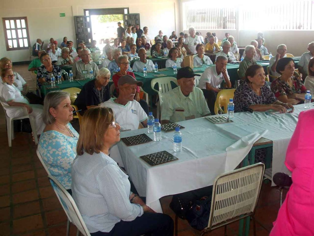 Imagen de archivo de una jornada para emigrantes mayores en la Casa Canaria de Altagracia de Orituco, en Venezuela.