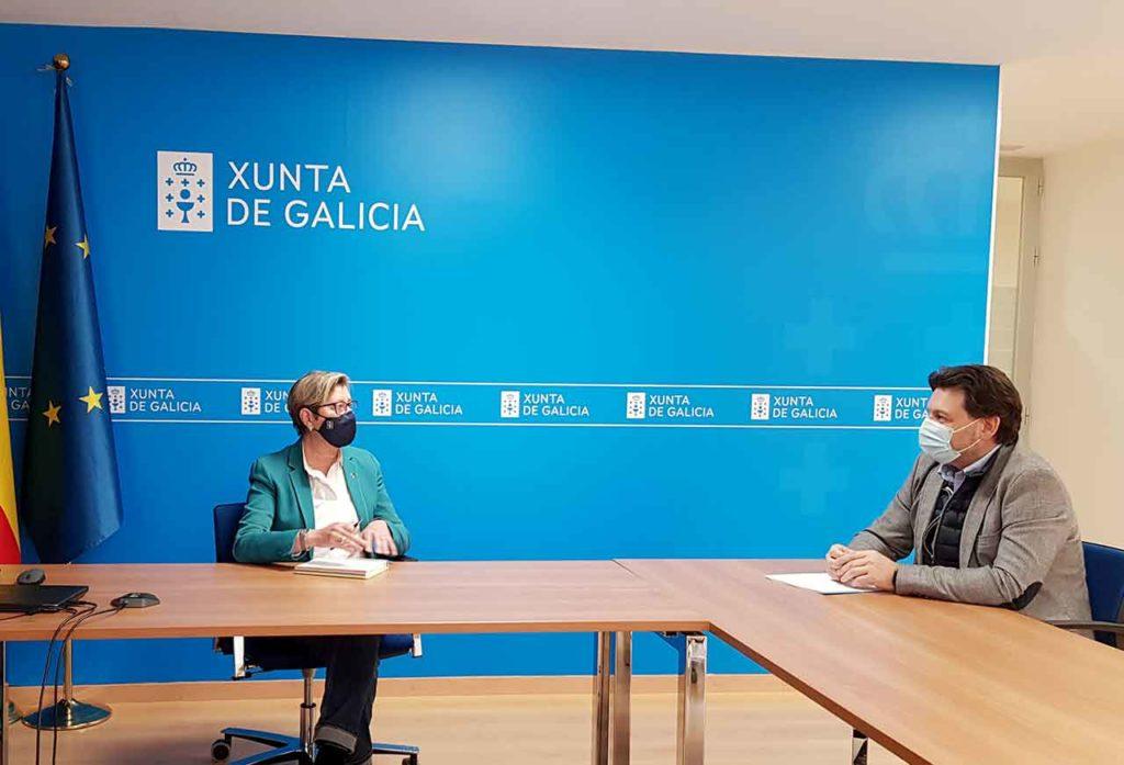 Rosa Quintana y Antonio Rodríguez Miranda.
