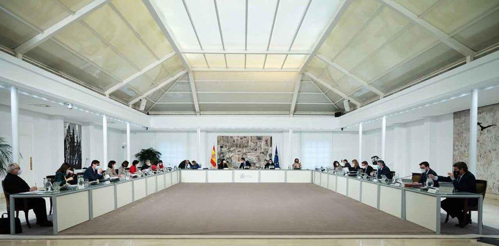 Reunión del Consejo de Ministros del martes 26 de enero.