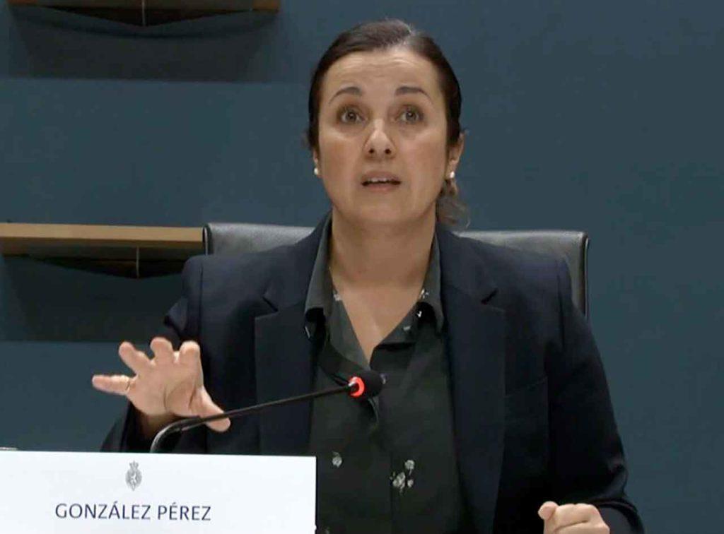 Eva González Pérez.