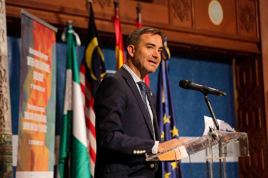 El director general de Relaciones con los Andaluces en el Exterior, Amós García Hueso.