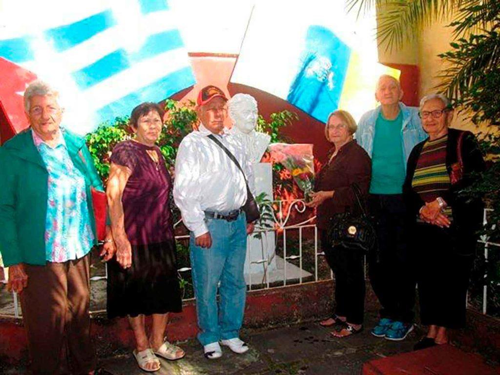 Emigrantes canarios en Cuba.