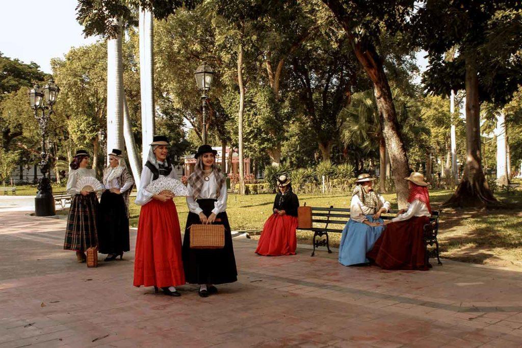 La imagen 'Domingo en Plaza Mayor' recibió el tercer premio en la modalidad de fotografía.