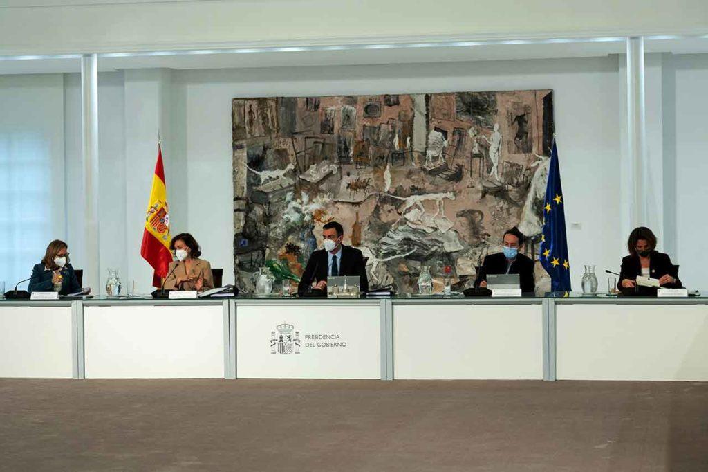 Reunión del Consejo de Ministros del martes 2 de febrero.