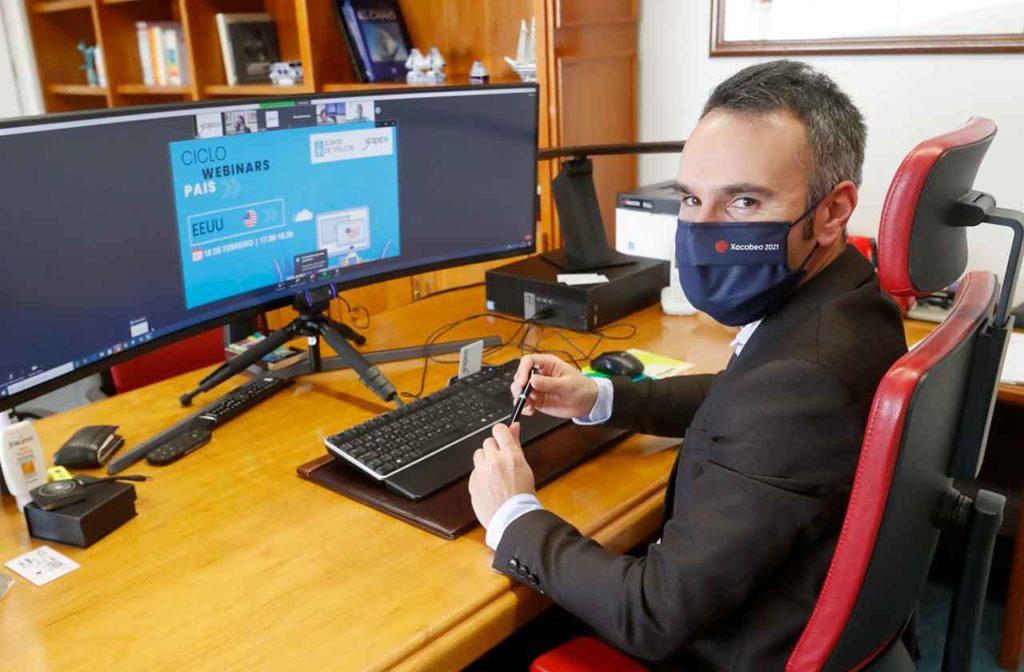 Fernando Guldrís en el encuentro on line.