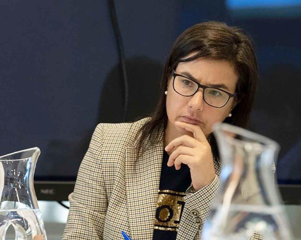 La diputada y responsable de Emigración del PP, Ana Belén Vázquez.