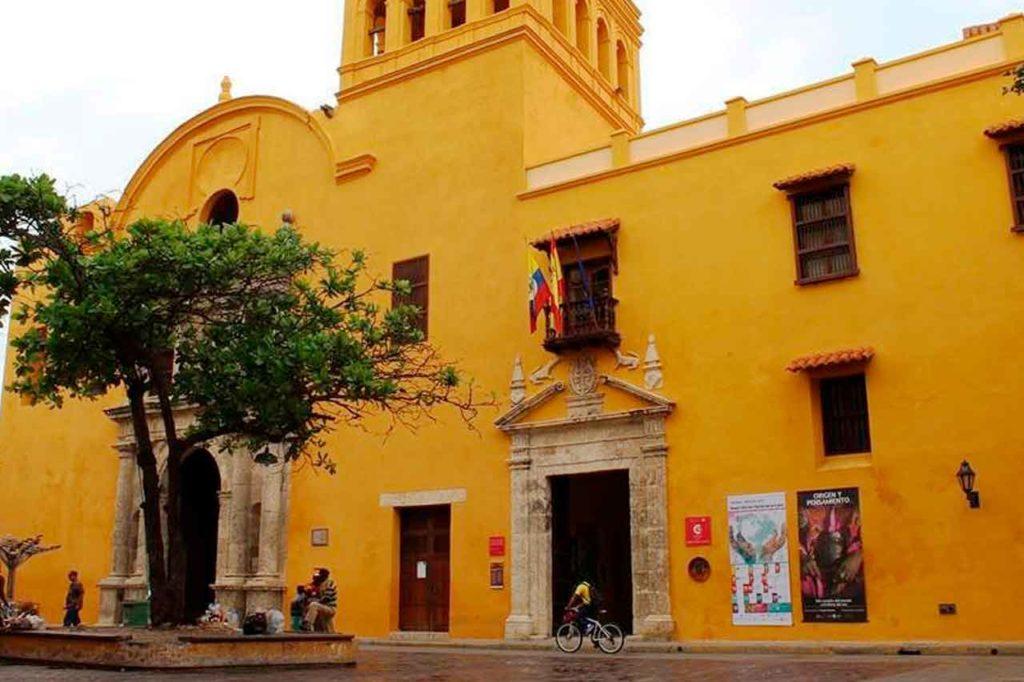 Imagen del Consulado en Cartagena de Indias.