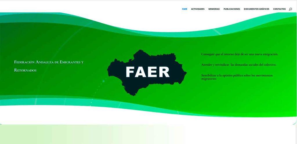 Nueva web de FAER.