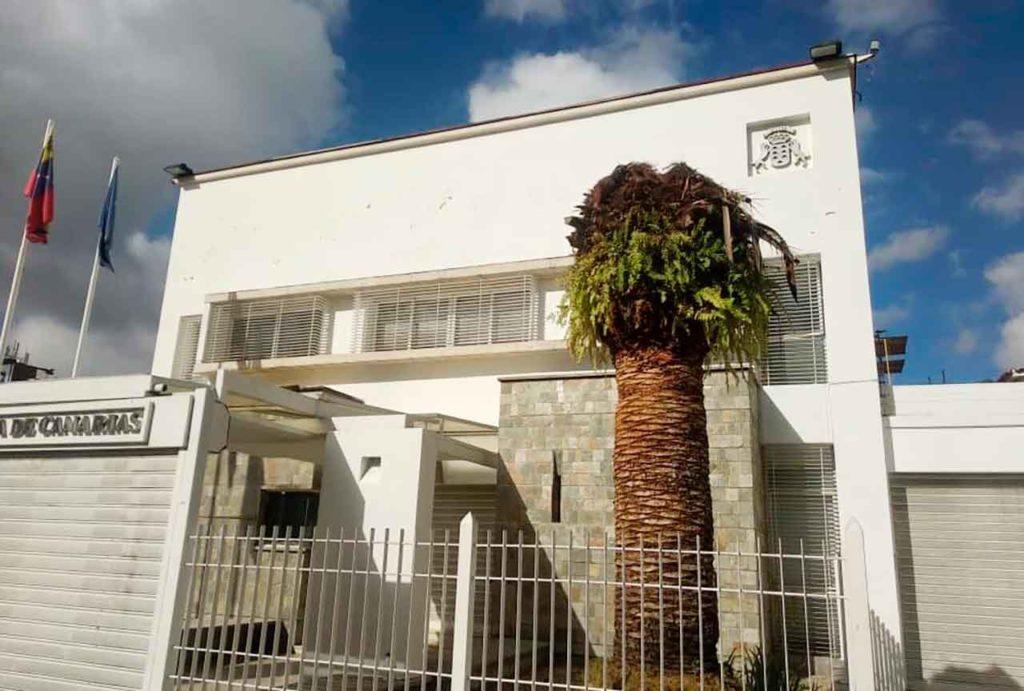 Sede de la delegación del Gobierno de Canarias en Venezuela.