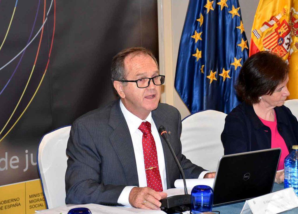 El presidente del Consejo General de la Ciudadanía Española en el Exterior, Eduardo Dizy.