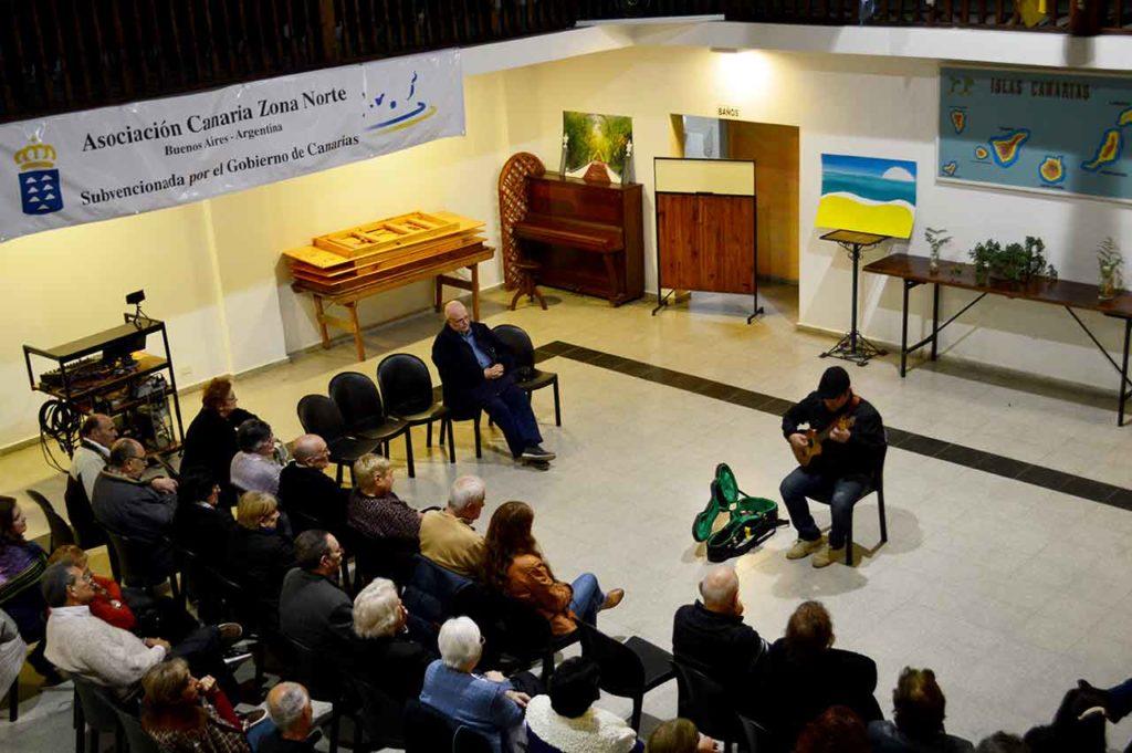 Imagen de archivo de una actividad en la Asociación Canaria de Buenos Aires.