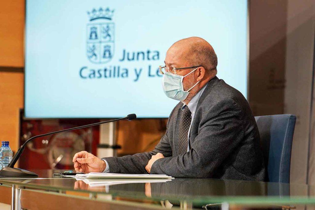 Rueda prensa de Francisco Igea tras la reunión del Consejo de Gobierno.