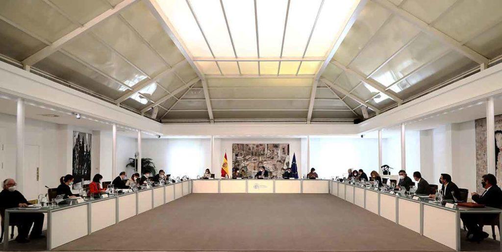 Reunión del Consejo de Ministros del pasado 23 de marzo.
