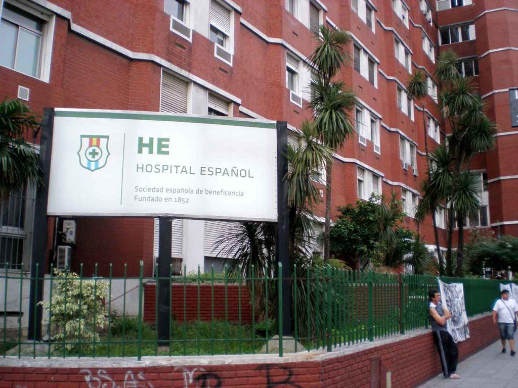 El Hospital Español de Buenos Aires.