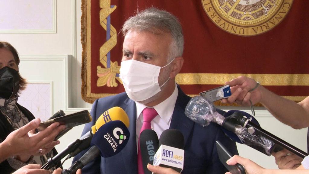 El presidente de Canarias, Ángel Víctor Torres, agradeció la aportación del Gobierno.