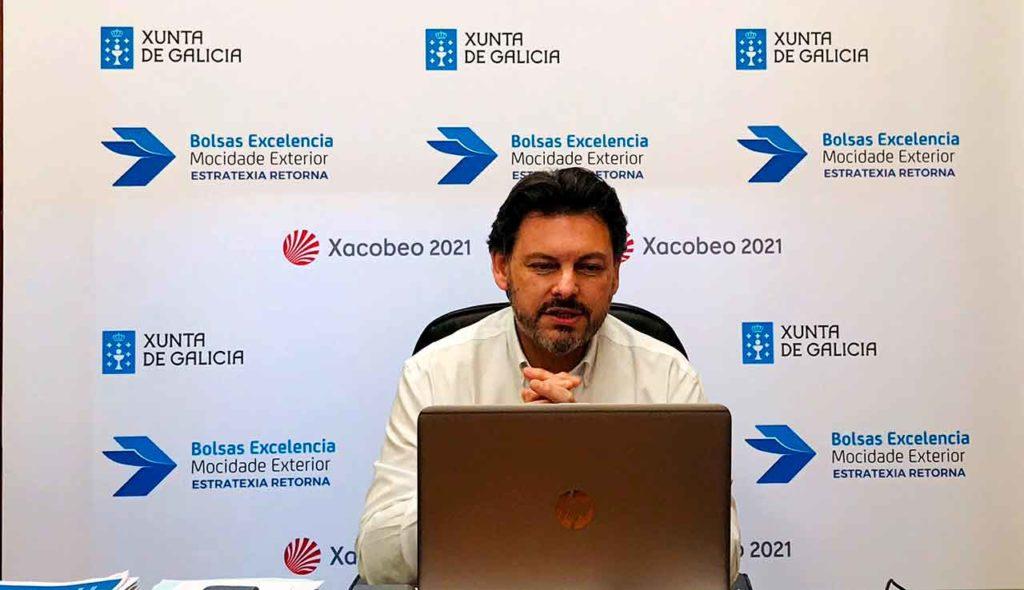 Antonio Rodríguez Miranda, durante una de los webinars informativos sobre las BEME.