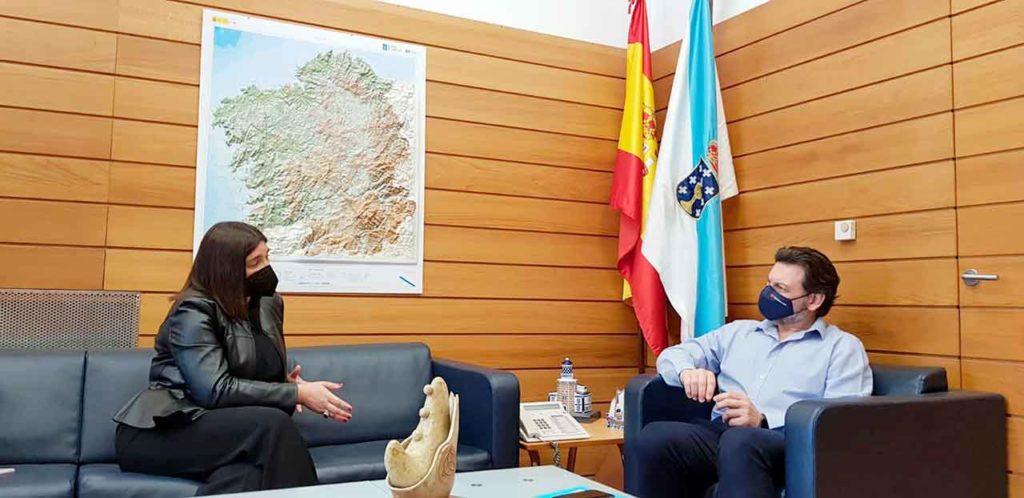 Mónica Calvo y Antonio Rodríguez Miranda.