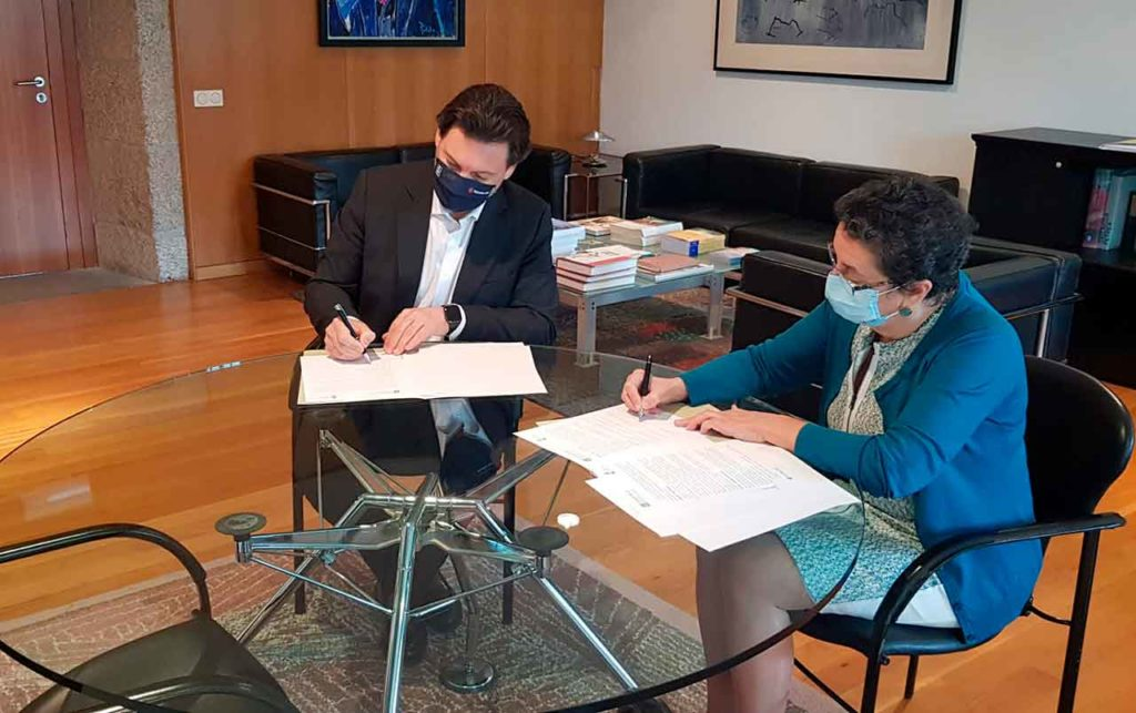 Antonio Rodríguez Miranda y Rosario Álvarez.