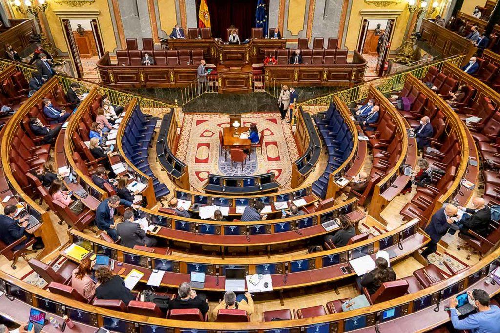 Sesión plenaria del Congreso.