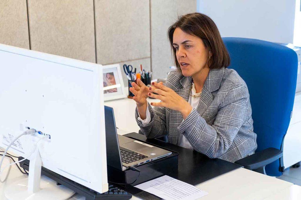 La directora de la Axencia Galega de Innovación (Gain), Patricia Argerey, participó en un webinar sobre esta iniciativa.