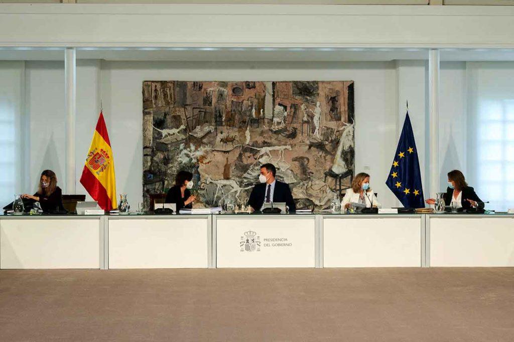 Reunión del Consejo de Ministros del pasado 13 de abril.