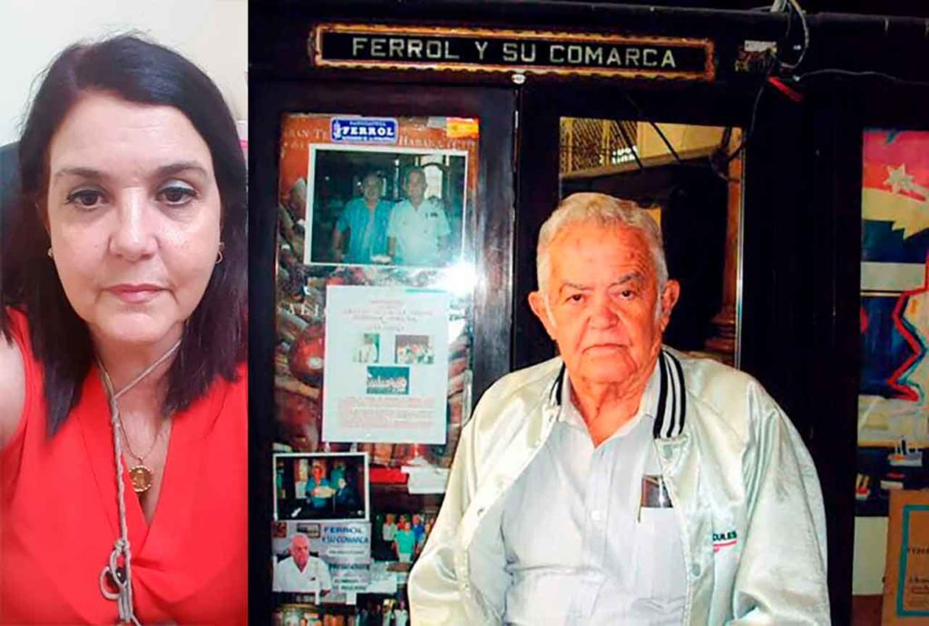 Susana Regueiro y Domingo Regueiro.