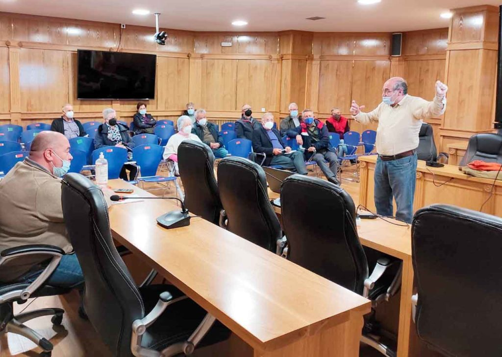 Sesión en Xinzo de Limia.