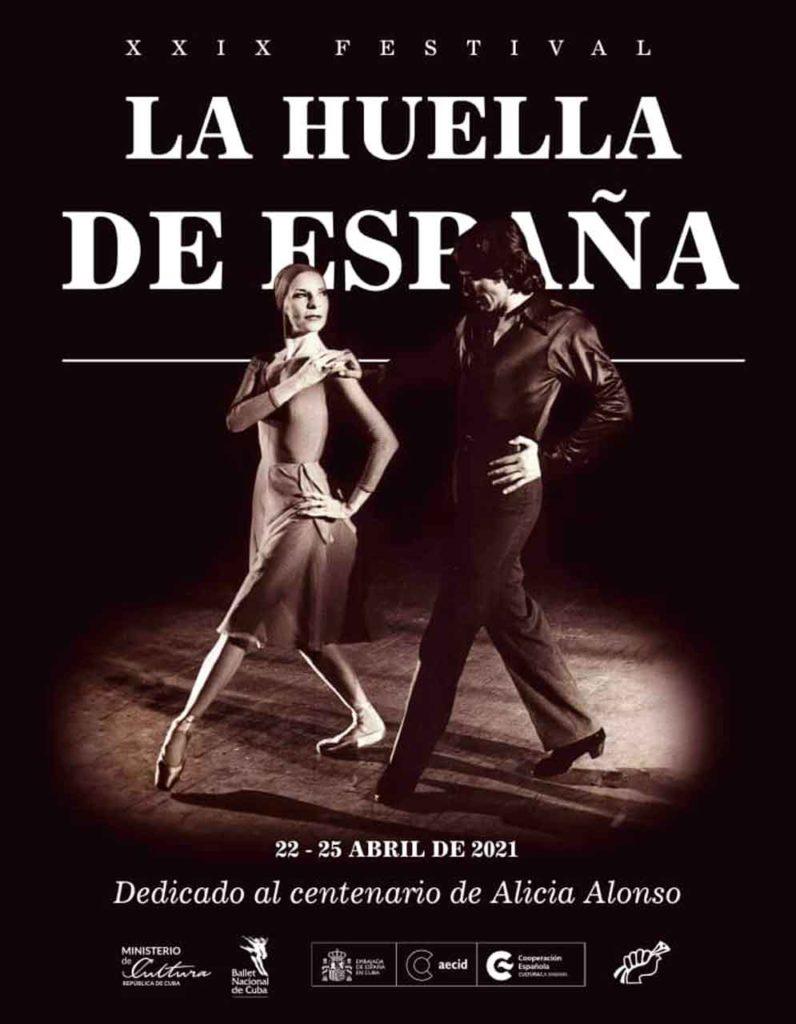 Cartel del Festival La Huella de España.