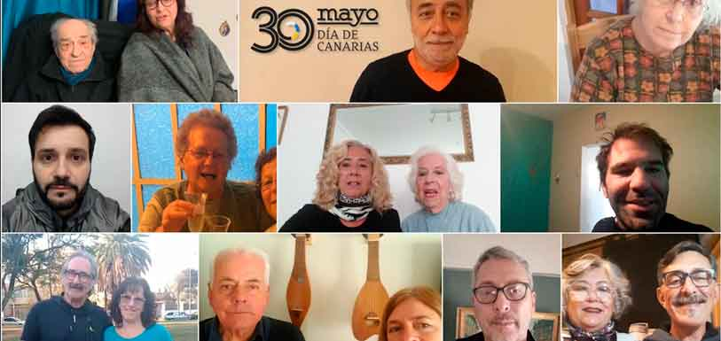 Imagen del vídeo de felicitación por el Día de Canarias.