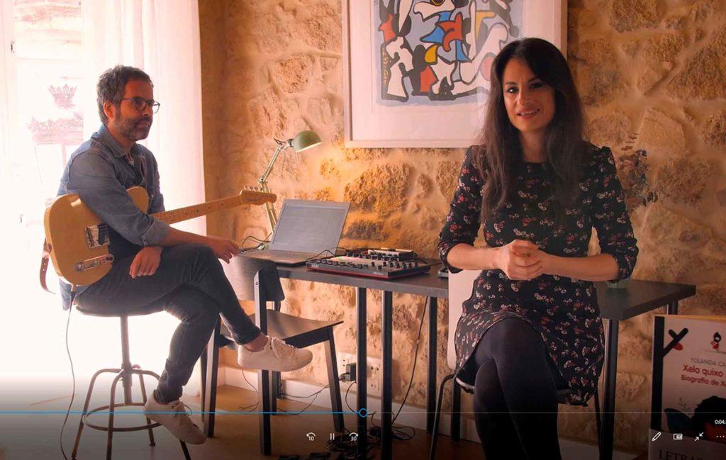 Isaac Garabatos y Yolanda Castaño.