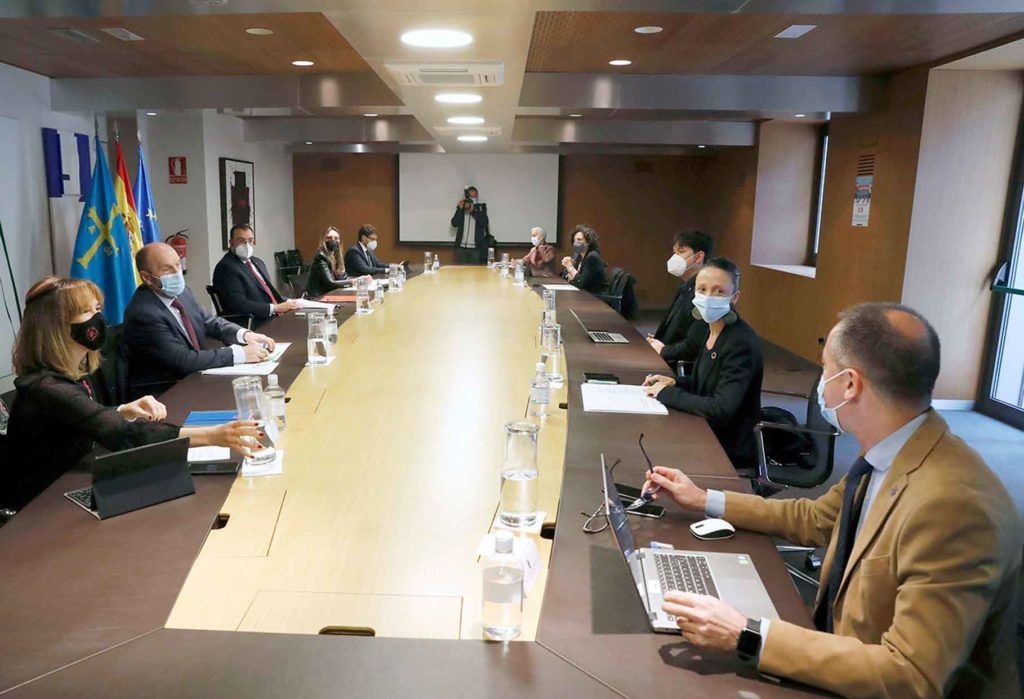 Reunión del Consejo de Gobierno del Principado del 14 de mayo de 2021.