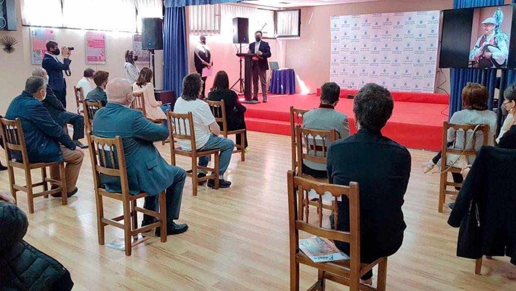 Intervención de Rodríguez Miranda en el acto organizado por el Centro Galego de Álava.